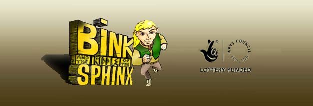 Bink and the Riddle of the Sphinx banner
