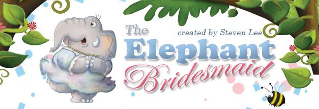 The Elephant Bridesmaid banner