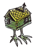 Maze characters hut