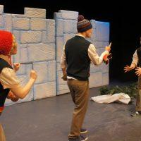 The Twelve Days of Christmas team - banished