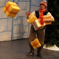 The Twelve Days of Christmas Catching presents