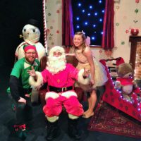 Santa In Love The North Pole Team