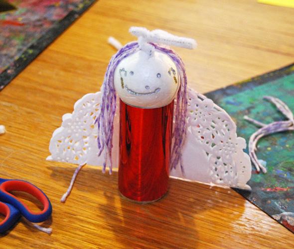 Christmas fairy crafts - fairy