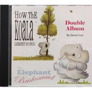 How the Koala Learnt to Hug and the Elephant Bridesmaid double album cd front
